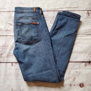 7 For All Mankind High Waist Gwenevere Size 30